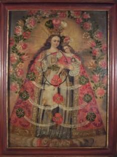 Virgen del Rosario de Pomata